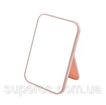Зеркало настольное (розовый)