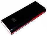 Повер банк Power Bank Mi 20000 mAh 3 USB LED-индикатор, фото 4