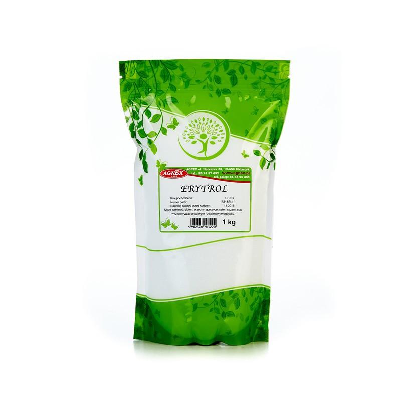 Эритритол (Эритрит, Эритрол), Сахарозаменитель 100% чистый еритритол Erytrytol 1000 г, Agnex