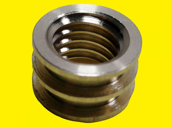 Латунное кольцо для прозрачных сопел на TIG горелку