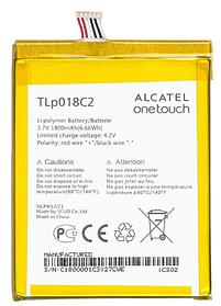 Аккумулятор (Батарея) для Alcatel OT 6033X One Touch Idol Ultra TLp018C2 (1800 mAh) Оригинал