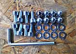 Паралетсы высокие (хайлетсы), напольные брусья (65 см высота) эксклюзивный снаряд для дома!, фото 6