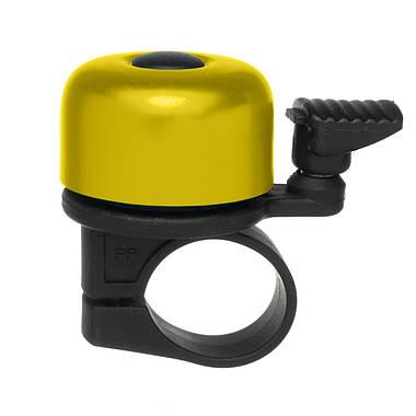 Дзвоник Green Cycle GBL-02A 35мм Yellow, фото 2