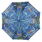 Яркий детский механический зонтик трость art. 02