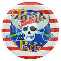 Серия Пираты Тарелки 23 см (уп.10 шт.)