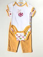 Бодики Штанишки набор для новонародженої дівчинки