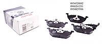 Тормозные колодки передние без датчика (ушки вверх) VW Caddy III 04- SOLGY (Испания) 209013
