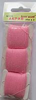 Акрил для вышивки: нежно розовый
