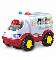 Детская машинка Metr+ 836 Скорая помощь, КОД: 1319725