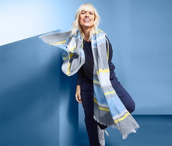 Большой красивый шарф, шаль от тсм Tchibo (чибо), Германия, 194*100 см
