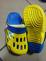 Детские кроксы ТМ Vitaliya двухцветные 24-30, фото 1