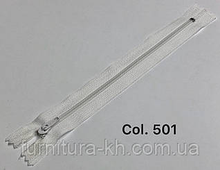 Молнии Брючные 18 см.Спираль Тип-4 Неразъемные цвет  501