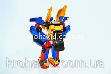 Трансформер 36 см TOBOT Тритан 507 / Робот - трансформер Тритан 3 в 1 Tritan / TOBOT TRITAN, фото 2