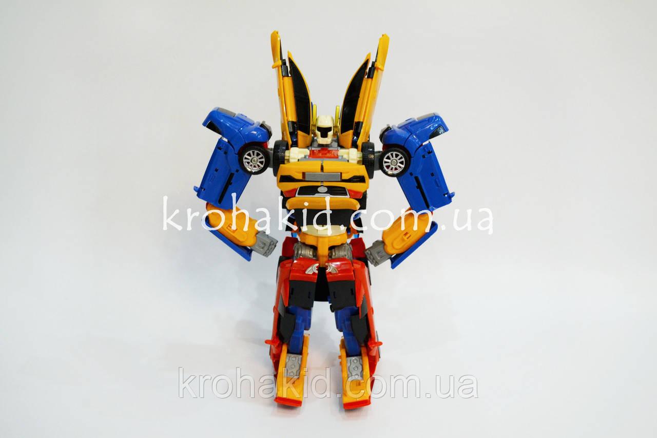 Трансформер 36 см TOBOT Тритан 507 / Робот - трансформер Тритан 3 в 1 Tritan / TOBOT TRITAN