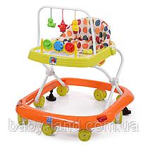Ходунки детские Bambi M 0541C-3 Оранжево-зеленые