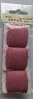 Акрил для вышивки: пепельно розовый
