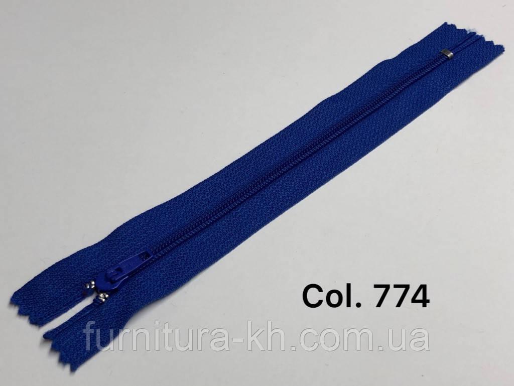 Молнии Брючные 18 см.Спираль Тип-4 Неразъемные цвет  774