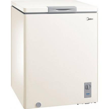 Морозильный ларь MIDEA HS-186C1N BE бежевый (150 л,2 корзины,функция холодильник,,3 года гарантия), фото 2