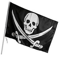 Пиратский Флаг средний 90*60 см