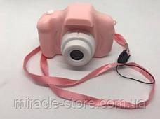 Дитяча Фото Відео камера Sonmax GM14 Рожева, фото 3
