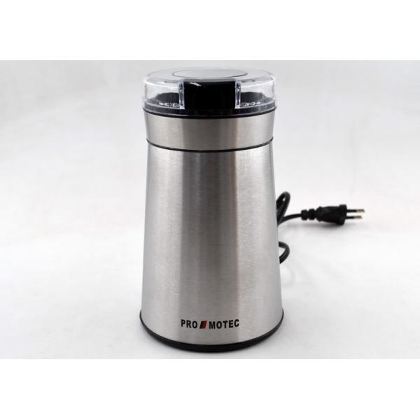 Електрична кавомолка подрібнювач Promotec PM-599 280W 70 гр Coffee Grinder