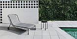 Шезлонг лежак дизайнерский Tidal металлический, фото 2