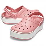 Женские кроксы Crocs Platform розовые 36 р., фото 4
