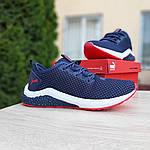 Чоловічі кросівки Puma Hybrid (синьо-червоні) 10089, фото 5