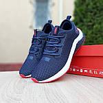 Чоловічі кросівки Puma Hybrid (синьо-червоні) 10089, фото 6