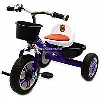Велосипед детский трёхколёсный Best Trike Фиолетовый (LM-1355)