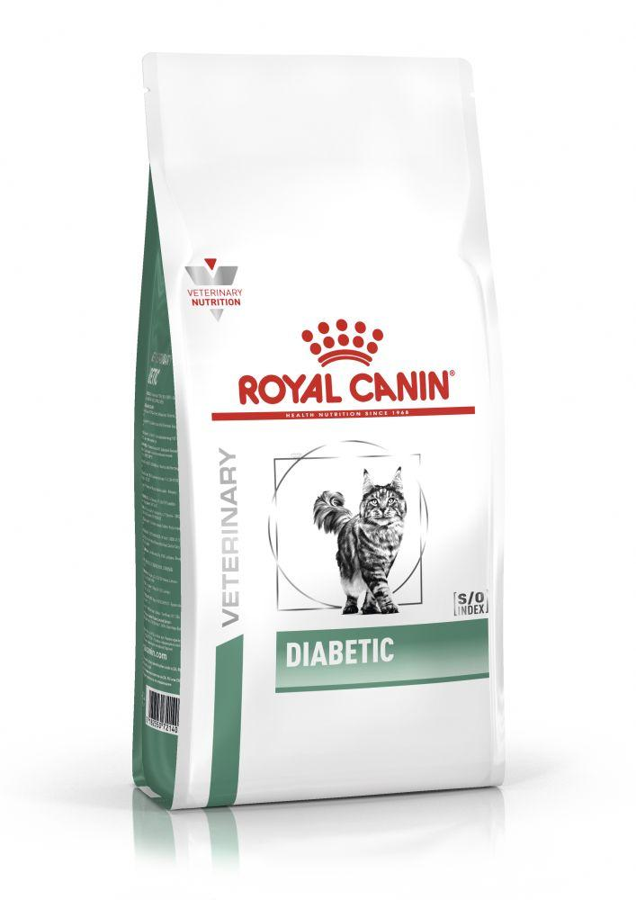 Лечебный сухой корм для кошек, страдающих сахарным диабетом Royal Canin Diabetic 400 г