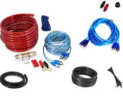 Комплект проводов для сабвуфера MDK MD-86 8GA провода для подключения усилителя
