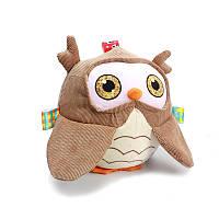Мягкая игрушка для малышей Сова Dolery (48370)