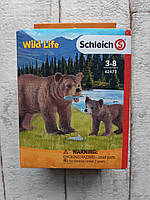 Фигурки Schleich Медведица гризли с медвежонком (42473)