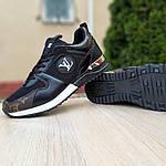 Женские кроссовки Louis Vuitton (черно-коричневые) 20080, фото 7