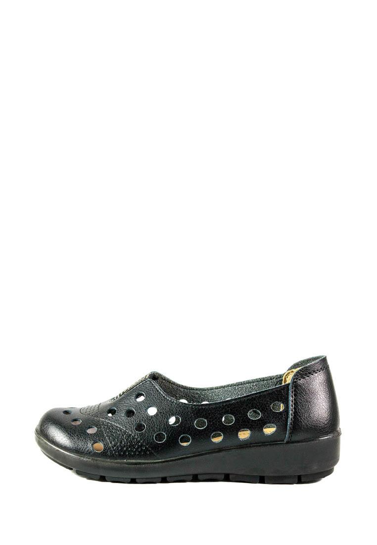 Мокасины женские Allshoes 5891 черные (36)