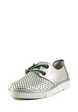 Мокасіни жіночі Allshoes срібний 16848 (40), фото 3