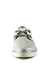 Мокасіни жіночі Allshoes срібний 16848 (40), фото 2