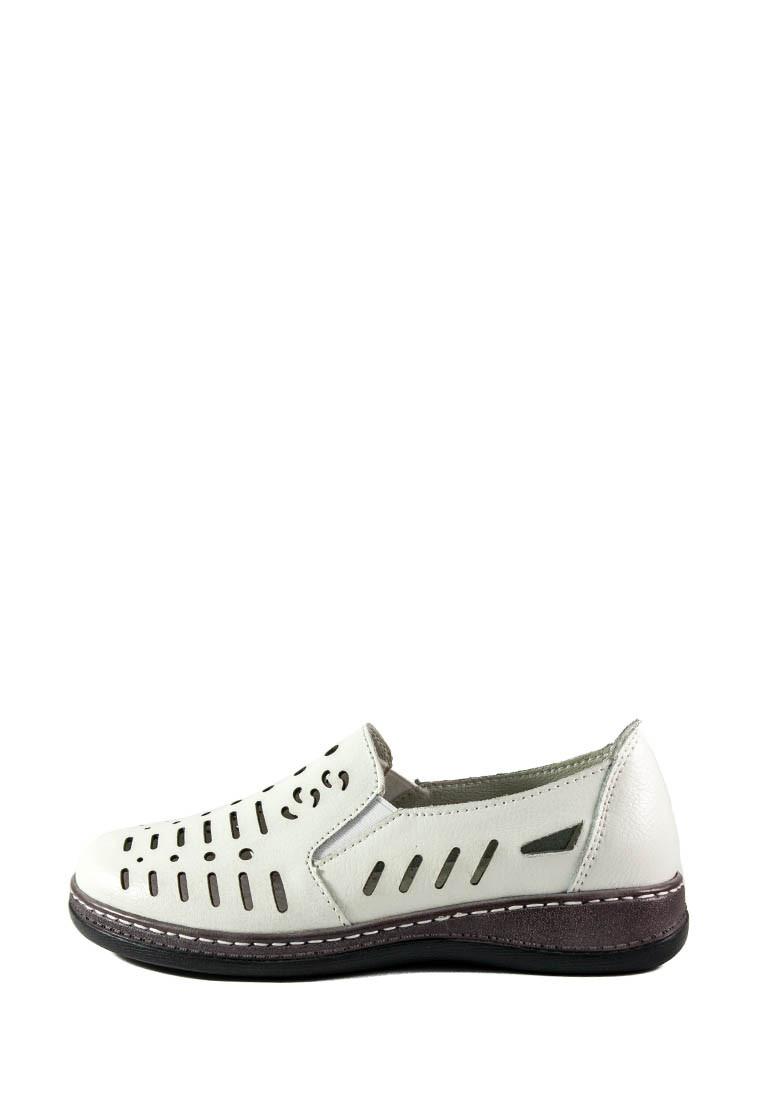 Мокасіни жіночі Allshoes білий 16820 (36)