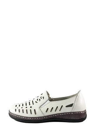 Мокасіни жіночі Allshoes білий 16820 (36), фото 2