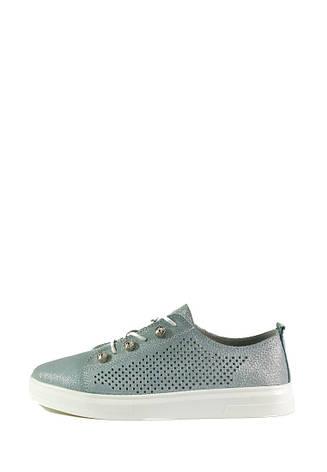Мокасины женские Allshoes 18688-1K серебряные (36), фото 2
