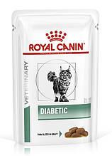 Лечебный влажный корм для кошек Royal Canin Diabetic при диабете 85 г