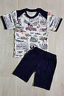 Комплект для мальчика футболка+шорты Тачки