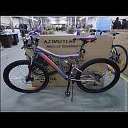 """Горный подростковый велосипед AZIMUT 20"""" BLACKMOUNT FR/D 2019"""