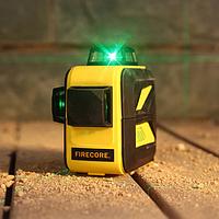 Лазерный уровень/лазерный нивелир 3D Firecore F93T-XG БИРЮЗОВЫЙ ЛУЧ
