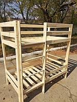 Двухъярусная кровать. Ручная работа. Натуральное дерево