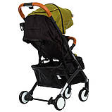 Легка і Зручна Прогулянкова коляска книжка Bene Baby D200 + Подарунок + Безкоштовна ДОСТАВКА, фото 7
