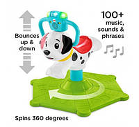 Прыгунки щенок Fisher-Price bounce and spin puppy GCW11