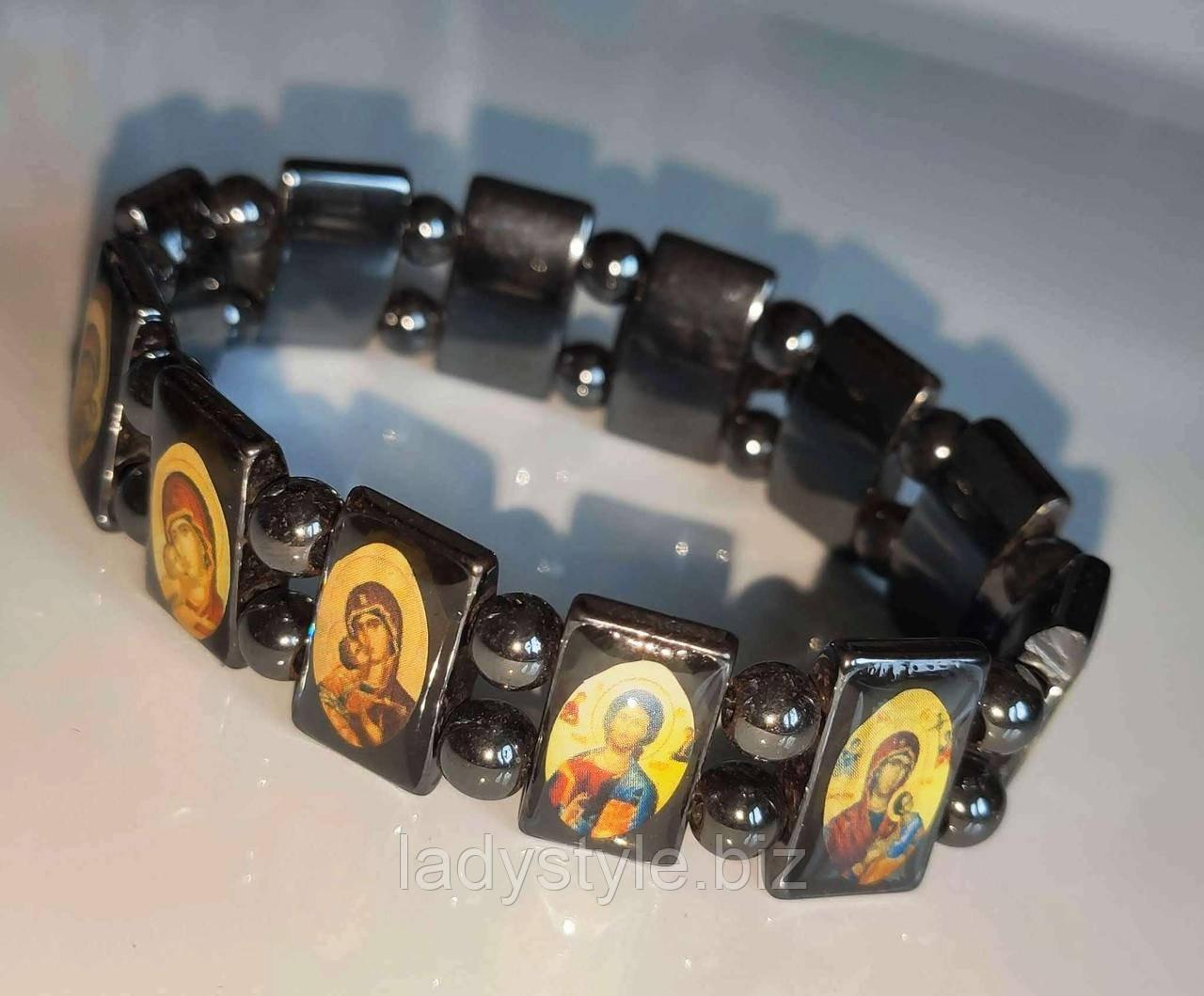 Гематитовый браслет від Студії www.LadyStyle.Biz
