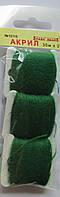 Акрил для вышивки: весенняя зелень